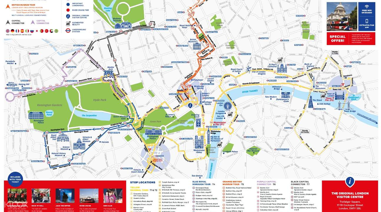 sightseeing bus london